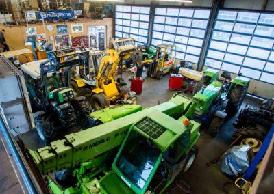 Maschinenhalle Lauber-Landtechnik